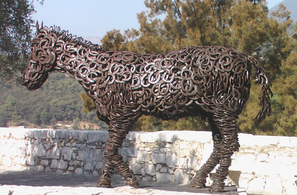 Top Un cheval de fer - Hippotese, Le cheval de Travail UT11
