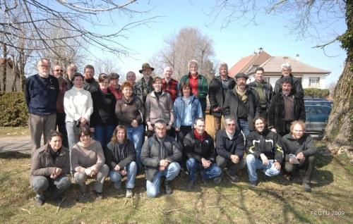 Les membres de la FECTU en 2009